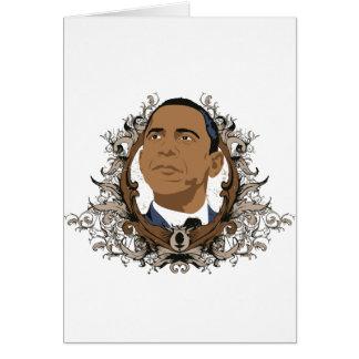 Cartão Mercadoria de Barack Obama