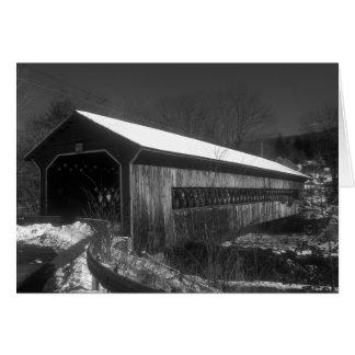 Cartão Mercadorias Gilbertville Massachusetts da ponte
