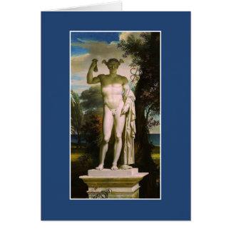 Cartão Mercury por Charles Meynier