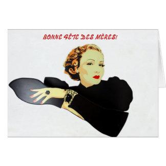 Cartão mères do DES do fête do carte