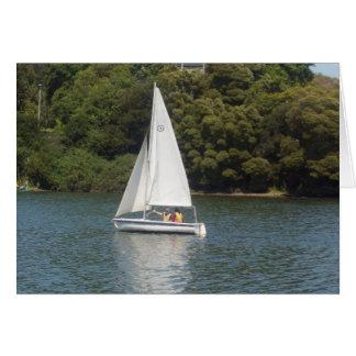 Cartão Merritt do lago