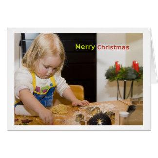 Cartão Merry Christmas Card