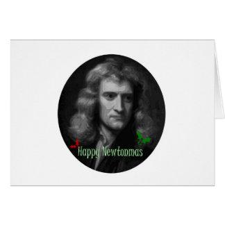 Cartão Merry Newtonmas!