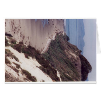 Cartão Mesa litoral em Santa Barbara