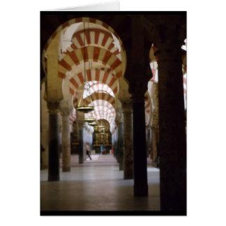 Cartão Mesquita-Catedral Córdova