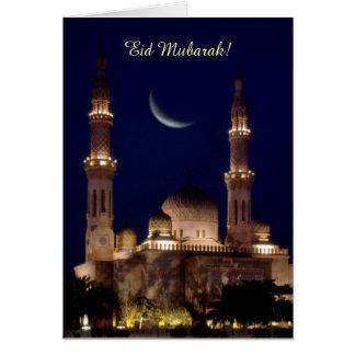 Cartão Mesquita Eid de Jumeirah