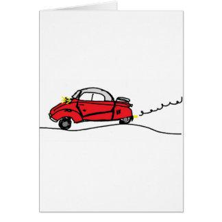 Cartão Messerschmitt