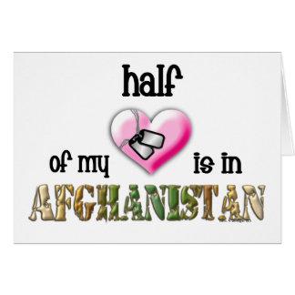 Cartão metade de meu coração… Afeganistão 2