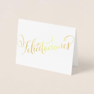 Cartão Metalizado Aniversário Quinceañera do formando de