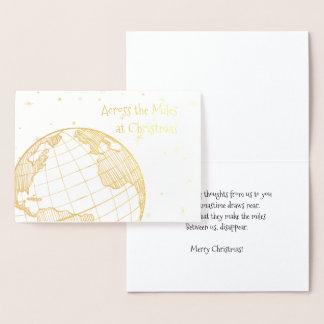 Cartão Metalizado Através das milhas no Natal