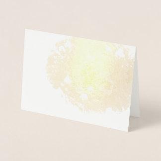 Cartão Metalizado Bluebonnet efémero