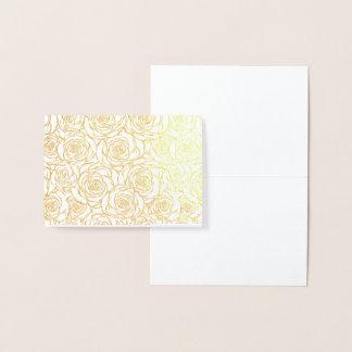 Cartão Metalizado bonito, floral.pink, branco, peônias, femininos,