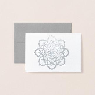 Cartão Metalizado Design celta