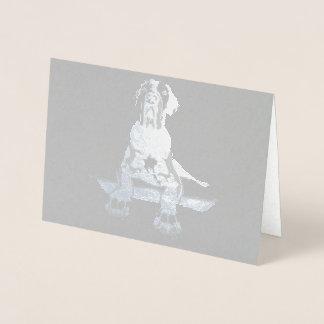 Cartão Metalizado Doggen toscas poderoso e genial