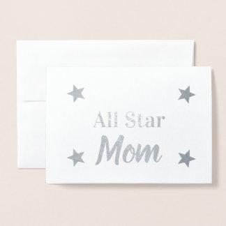 Cartão Metalizado Mamã feita sob encomenda de All Star