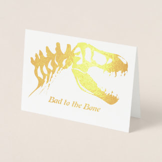 Cartão Metalizado Mau ao osso