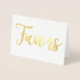 Cartão Metalizado O ouro favorece o sinal do casamento da ocasião