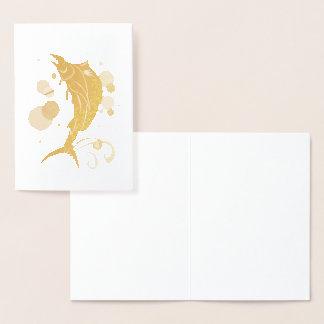 Cartão Metalizado Sailfish