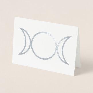 Cartão Metalizado Símbolo da deusa de Falln
