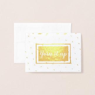 Cartão Metalizado Yarn o acima • Artesanatos