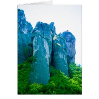 Cartão Meteora, piscina