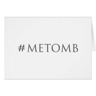 Cartão #metomb