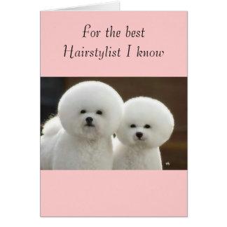 Cartão meu cabeleireiro