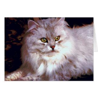 Cartão Meu gato