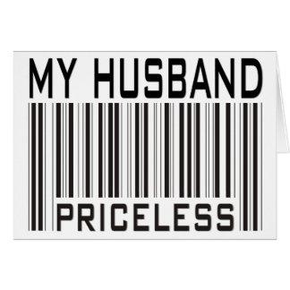 Cartão Meu marido impagável