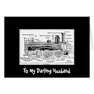 Cartão Meu marido querido