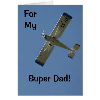 Cartão meu pai super