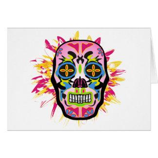 Cartão Mexican Skull