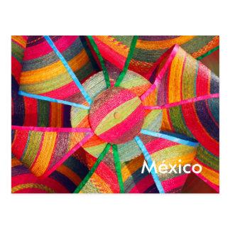 Cartão mexicano do artesanato
