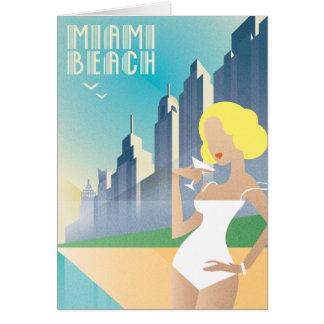 Cartão Miami Beach