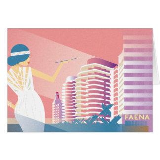 Cartão Miami Beach | Faena