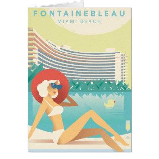 Cartão Miami Beach | Fontainbleau