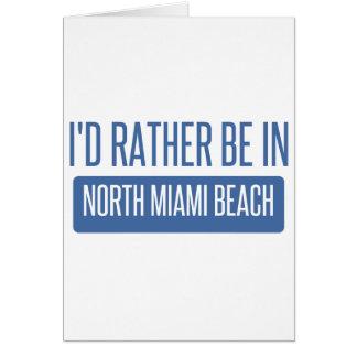 Cartão Miami Beach norte
