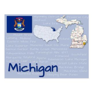 """Cartão """"Michigan """""""