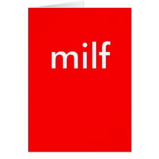 Cartão milf