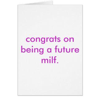Cartão milf futuro