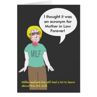 Cartão MILF - Sogra para sempre