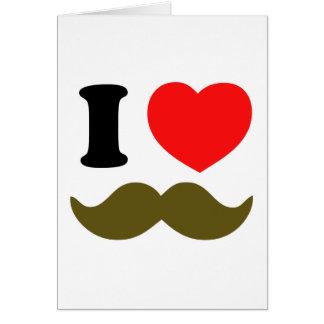 Cartão Mim coração Stache