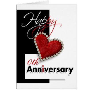 Cartão Mim coração você aniversário romântico