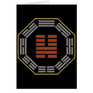 """Cartão Mim Hexagram 46 Sheng de Ching """"que ascensão """""""