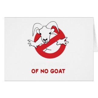Cartão Mim tia nenhuma cabra