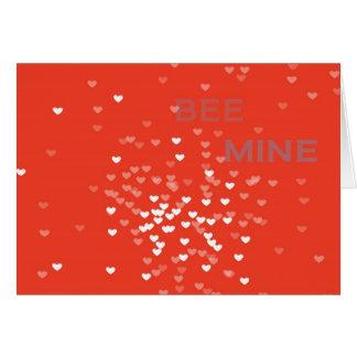 Cartão Mina da abelha