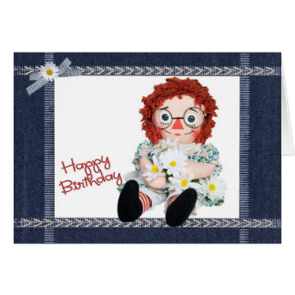 Cartão Minha boneca favorita