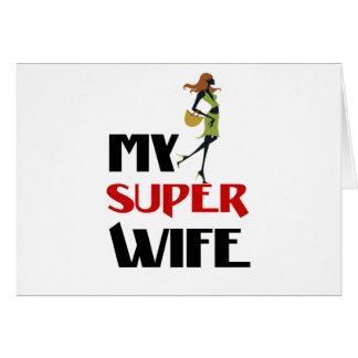 Cartão minha esposa super