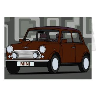 Cartão Mini retro