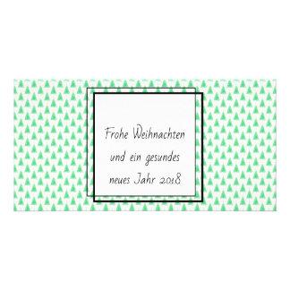 Cartão Minimalistische Weihnachtskarten de Glänzende